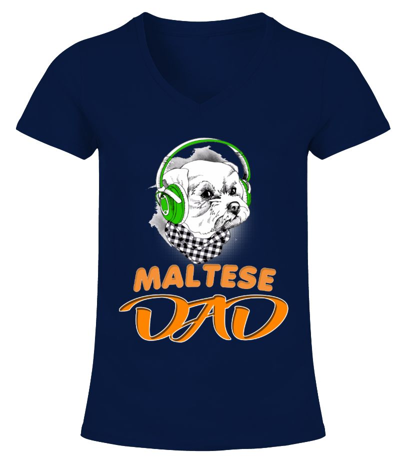 Maltese In Green Headphones Dad maltese shirt,maltese cross shirt,maltese cross t shirt,maltese cross fire shirt,