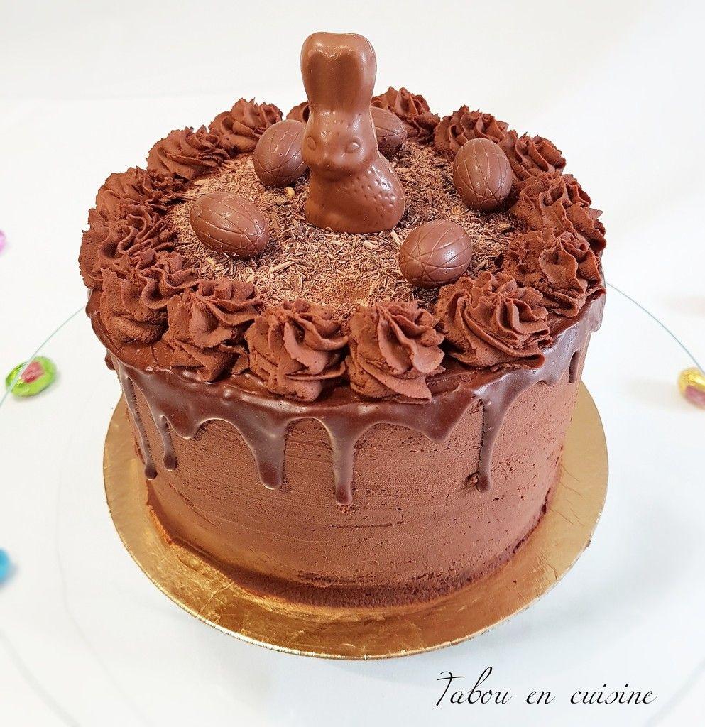 Layer cake au chocolat en 2019 cake chocolat id e - Que mettre dans un gateau de couche ...