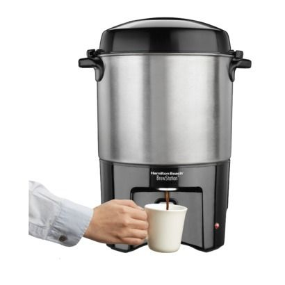 Hamilton Beach Brew Station 40 Cup Coffee 40514 Coffee Urn Coffee Making Machine Office Coffee