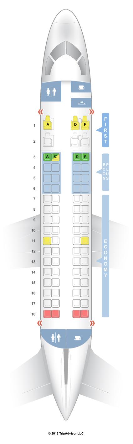 Erj 170 Seating Chart