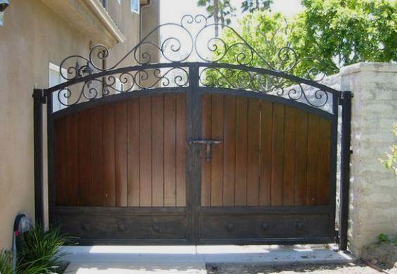 25 Fantastic Wrought Iron Driveway Gate Design Ideas Wrought Iron Driveway Gates House Gate Design Iron Gate Design