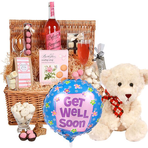 Get Well Wishes Hamper Gift Delivery Uk Getwellsoon Hampers Gifts Get Well Wishes Delivery Gifts Gift Hampers