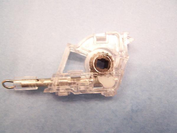 Levolor Heavy Duty Low Profile Wand Tilt Mechanism Key Shape Hole Blindparts Com Blinds Low Profile Wood Blinds
