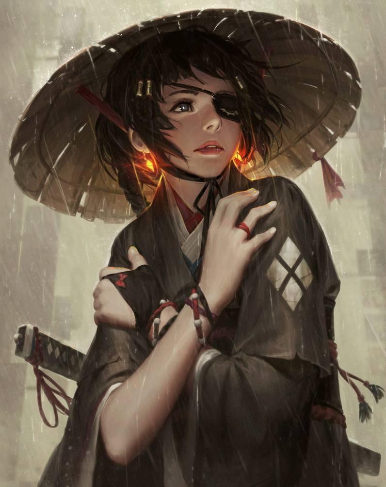 One Eye By Guweiz On Deviantart Digital Art Girl Art Girl Art