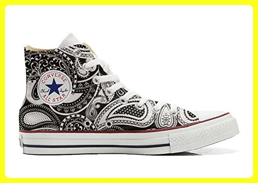 Make Your Shoes Converse Customized Adulte - chaussures coutume (produit artisanal) Infinity Texture size 34 EU