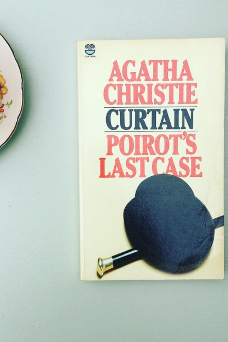 Curtain Poirot S Last Case By Agatha Christie Vintage Paperback Agatha Christie Curtain Paperback Poirot Vintage In 2020 Agatha Christie Poirot Classic Books