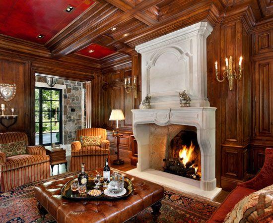 Billiards Room With Leather Ceiling Www Lindafloyd Com