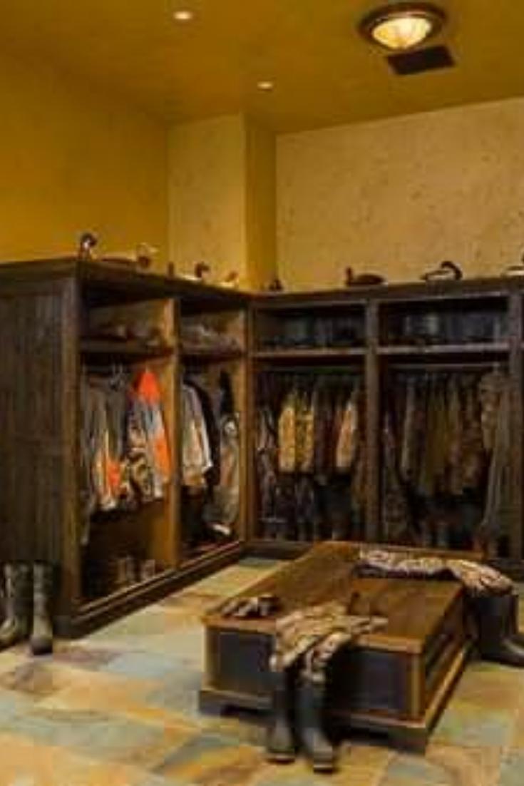 Camo Man Cave Closet