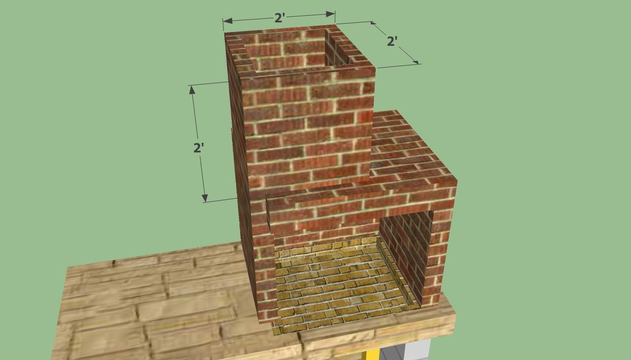 Building a Brick Smoke Pit | Free Barbeque Plans  Built ...