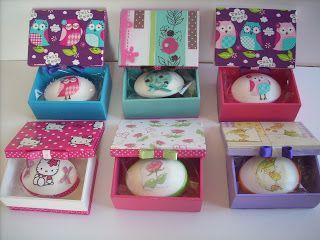 Artes da Mirian: caixa para sabonetes