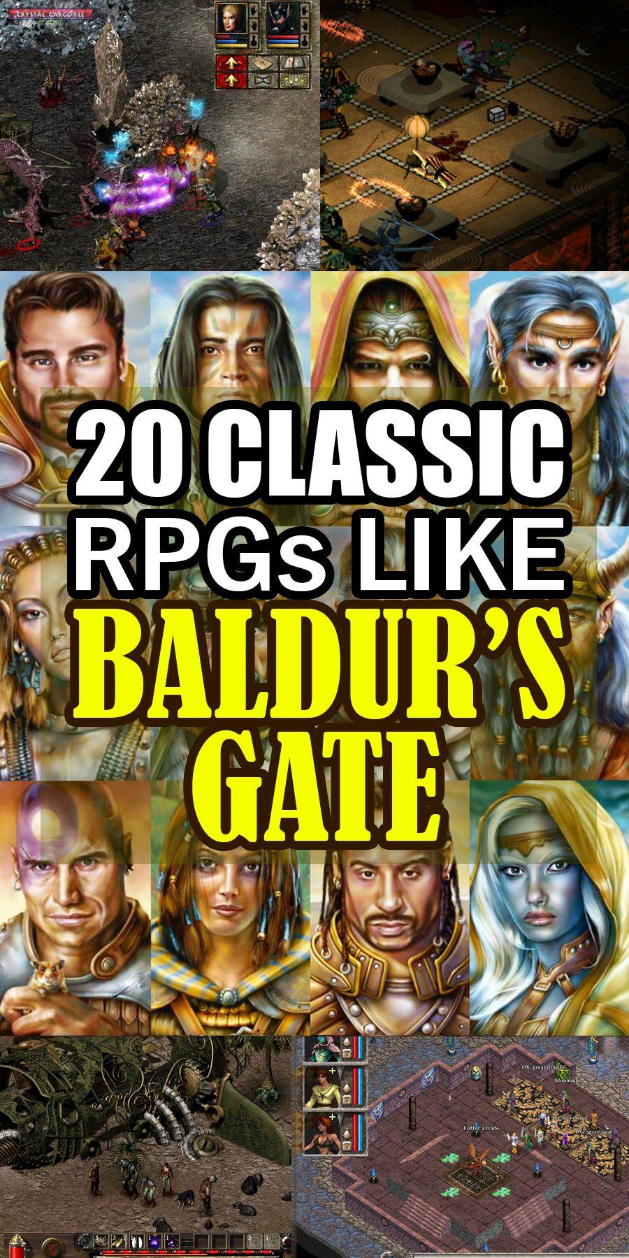 20 Classic Isometric RolePlaying Games Like Baldur's