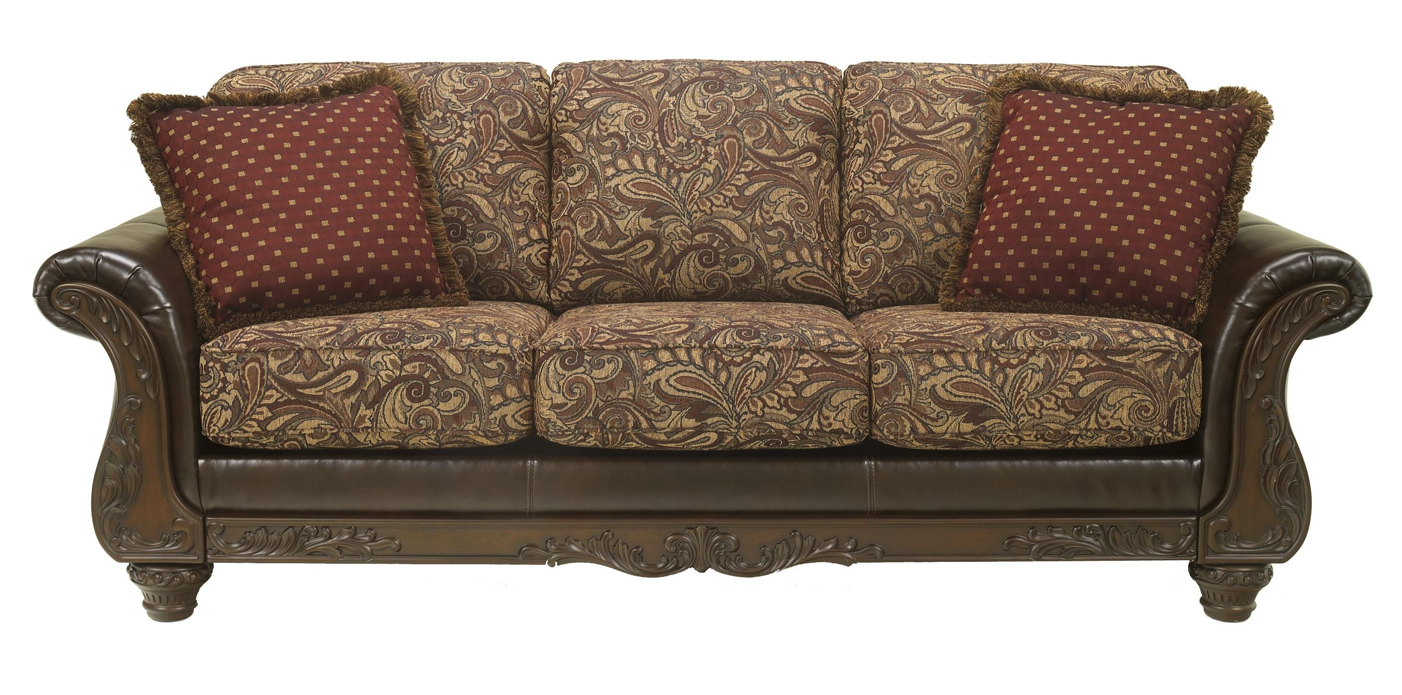 Best Macneill Umber Sofa By Benchcraft 720 Traditional Living Room Furniture Furniture Sofa 400 x 300