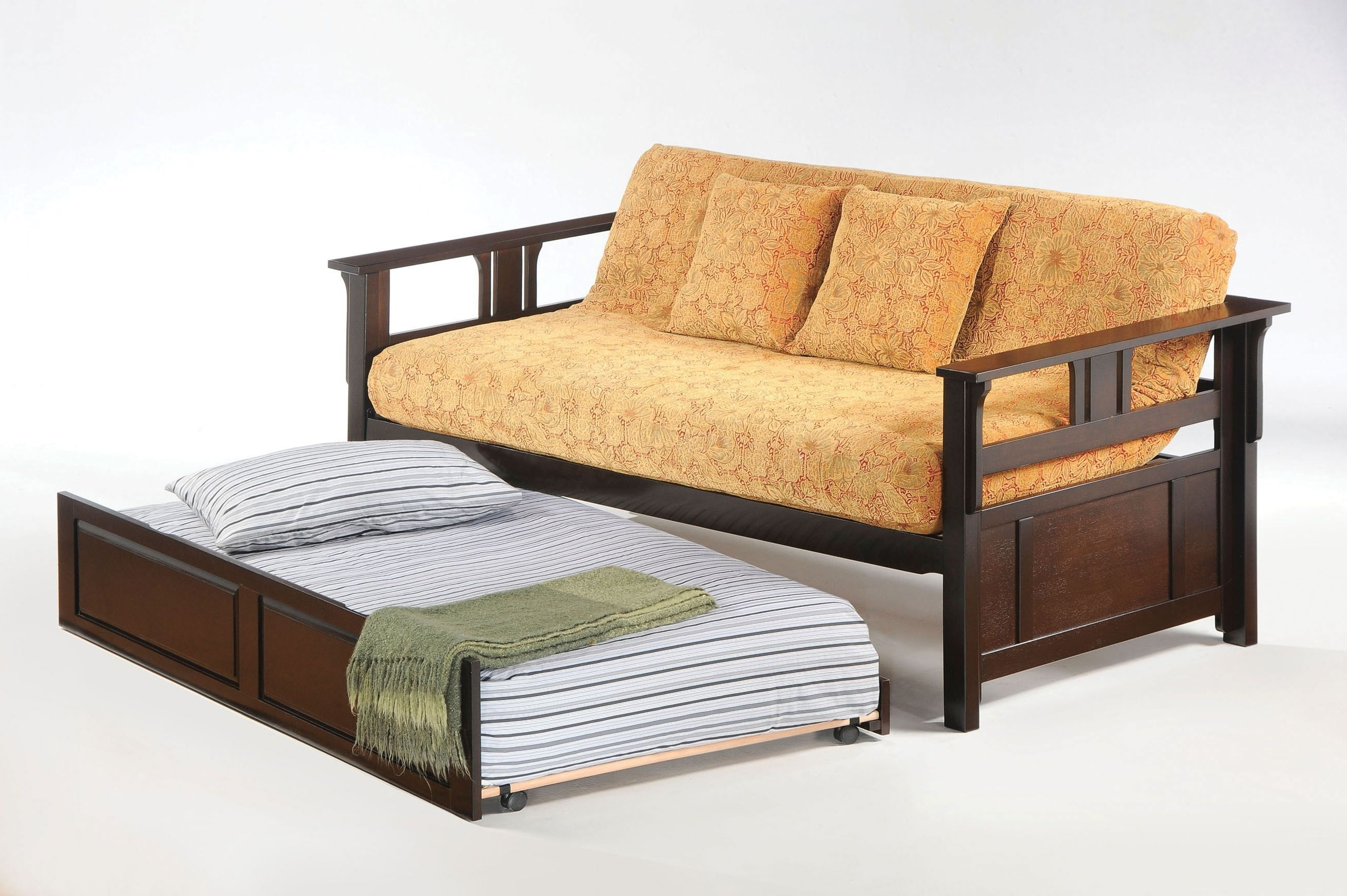 Couch With Trundle Bed (With images)   Sofa bed design ...
