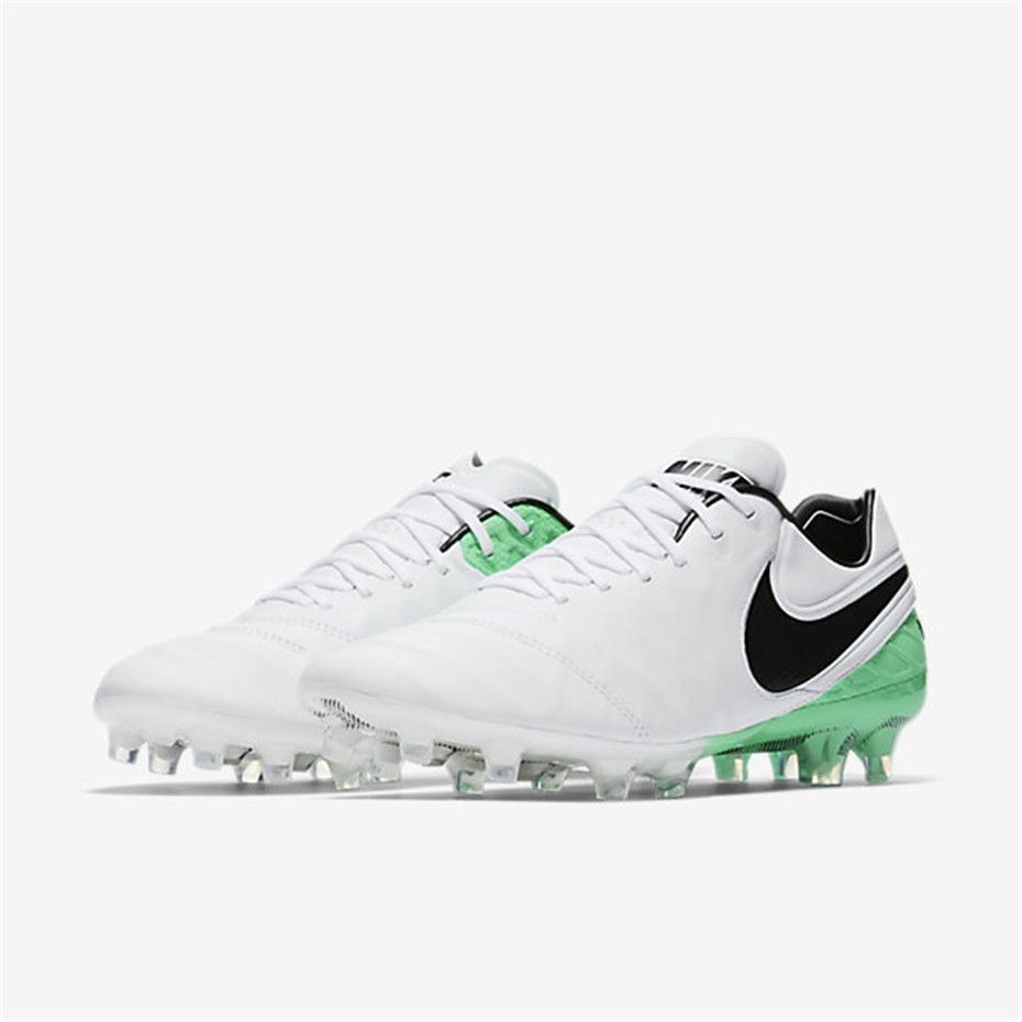 Nike Tiempo Legend VI FG (White   Electro Green   Black)  3214d6155