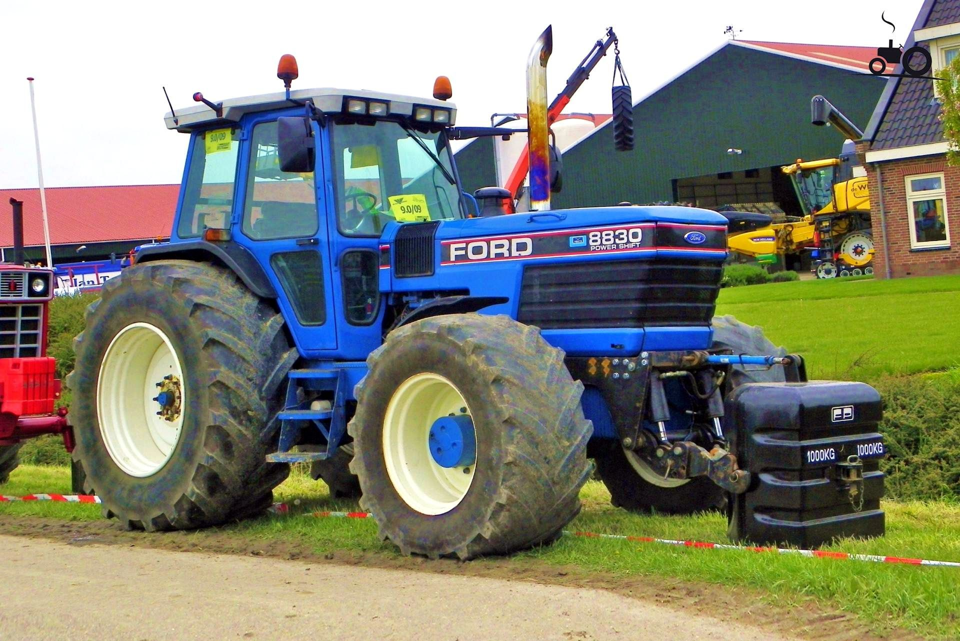 Ford 8830 Ford Tractors, Agriculture, Horticulture