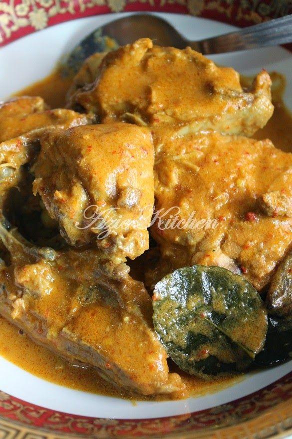 resep masakan gulai ayam resep manis masakan indonesia Resepi Nasi Ayam Utara Enak dan Mudah