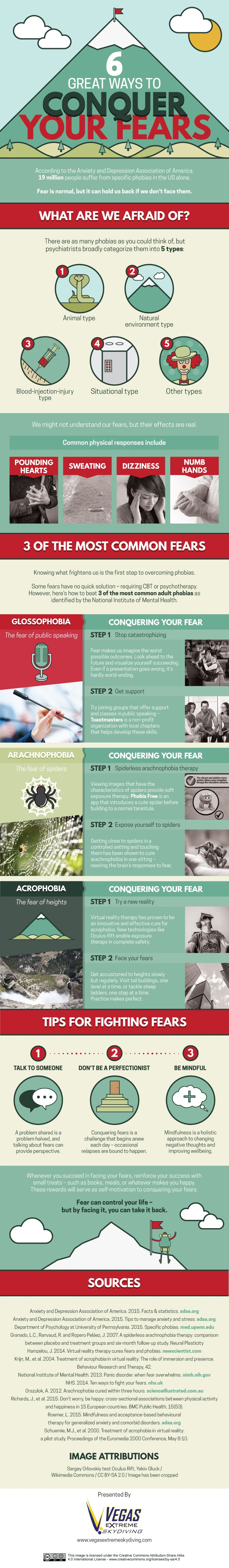 6 Great Ways to Conquer Your Fears