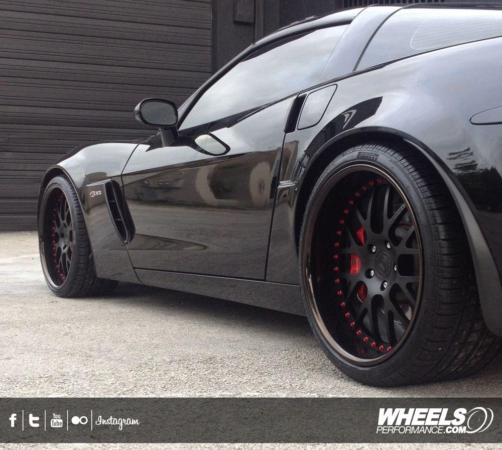 Our Client S Chevrolet Corvette C6 Z06 With 20 D2forged Vs1 Wheels Www Wheelsperformance Com Corvette Tyre Size Tire