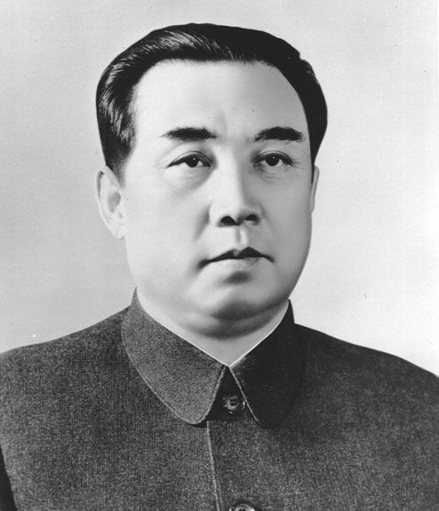 kim il sung fully in maoist style