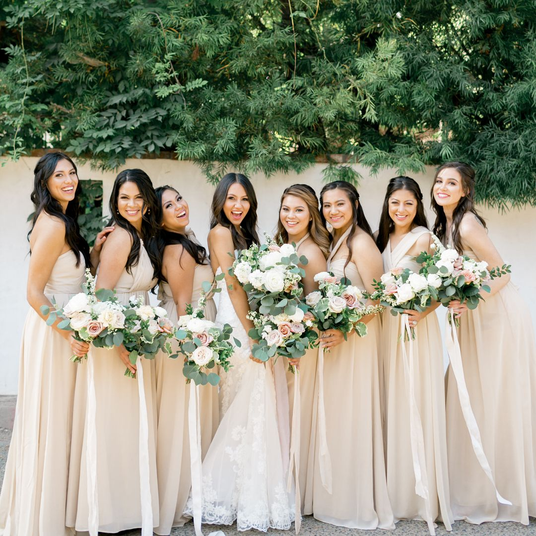 These brides rented their bridesmaid dresses see how it turned these brides rented their bridesmaid dresses see how it turned out ombrellifo Gallery