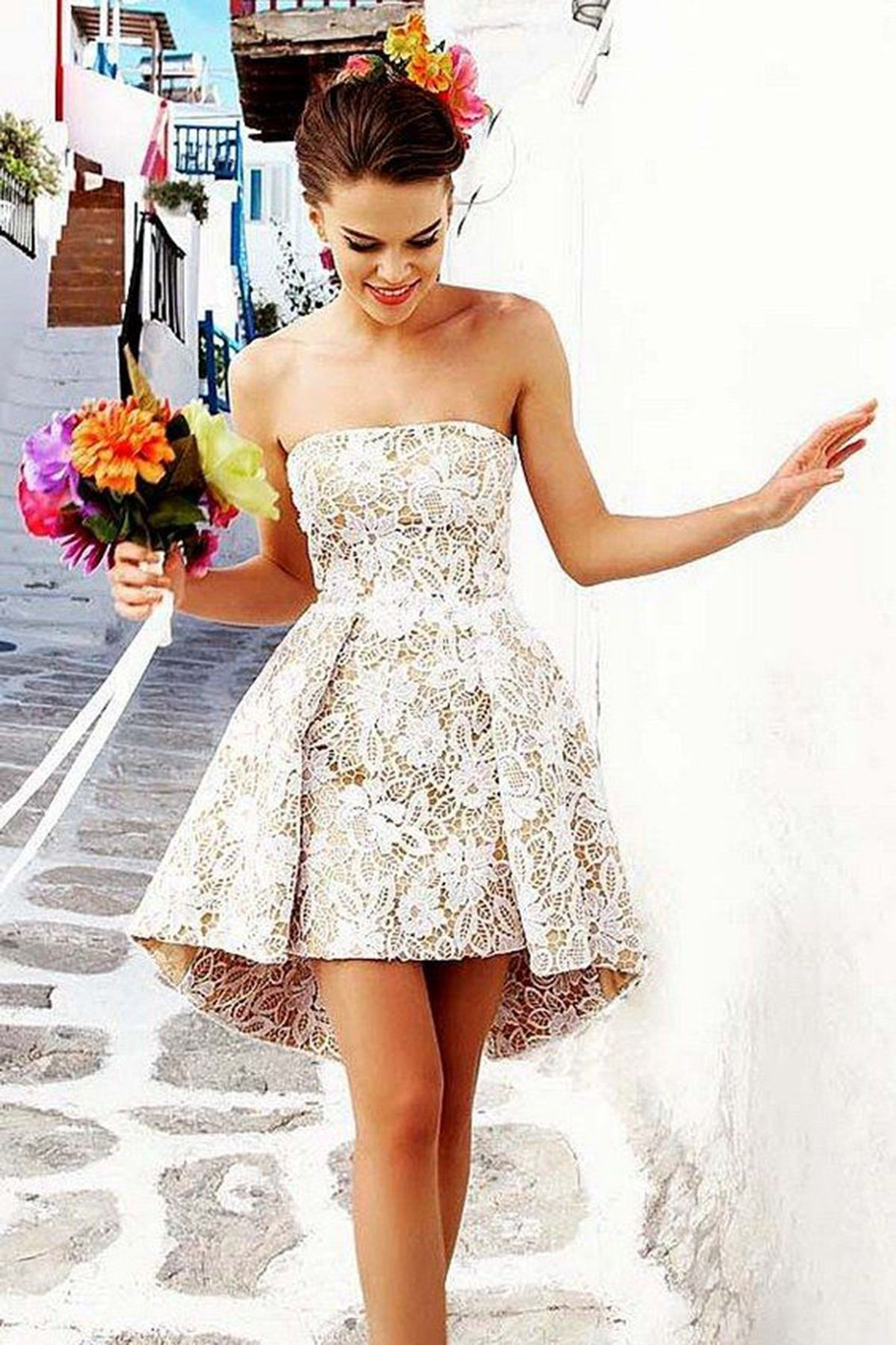 Cute lace fashion prom dress gowns pinterest posts prom