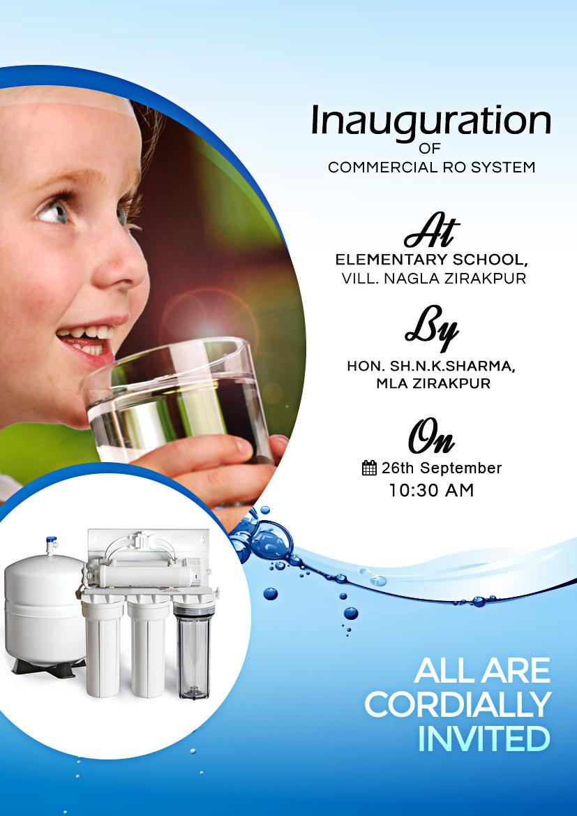 Flyer Designfor Ro Water Purifier Graphic Designs Ro