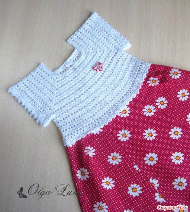 Два платья для малышки!   crochet y tela   Pinterest   Vestidos ...