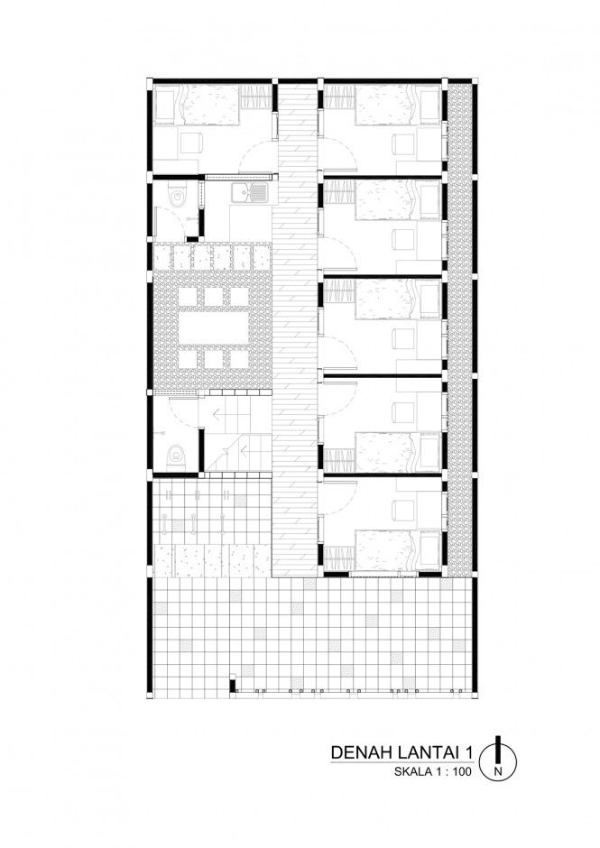Simple Boarding House Design