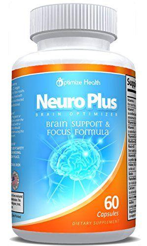 Neuro Plus Brain Optimizer Nootropics Supplement 60 Capsules