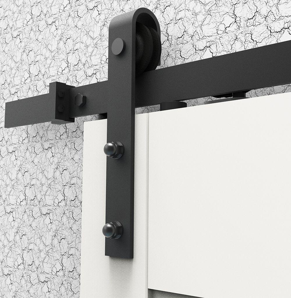 DIYHD 183 CM/195 CM cierre Suave puerta corredera granero hardware ...