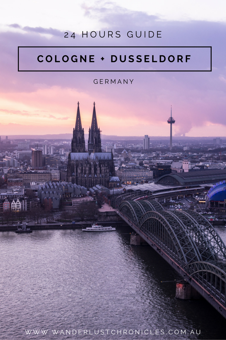 24 Hour Guide to Cologne and Dusseldorf in Germany. Travel, Wanderlust, Germany,