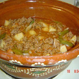 Authentic Mexican Recipe Picadillo Ground Beef Mexican Food Recipes Authentic Mexican Food Recipes Picadillo Recipe