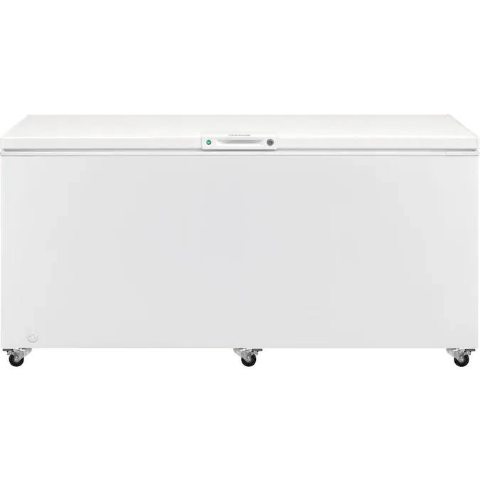 Frigidaire 24 8 Cu Ft Manual Defrost Chest Freezer White Lowes Com Chest Freezer Frigidaire Upright Freezer