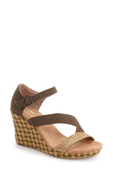 TOMS TOMS 'Clarissa' Sandal (Women) available at #Nordstrom