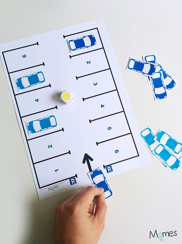 le p 39 tit jeu du parking jeux imprimer pinterest jeux jeux a imprimer et a imprimer. Black Bedroom Furniture Sets. Home Design Ideas