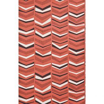 Papier Peint Chevron Miss Print Atelier Du Passage Papier Peint Graphique Papier Peint Motif Geometrique