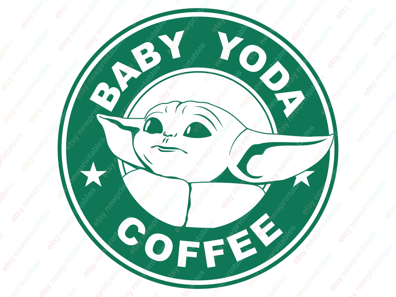 Baby Yoda Star Wars The Mandalorian Vinyl Decal Window Sticker Disney MADE USA
