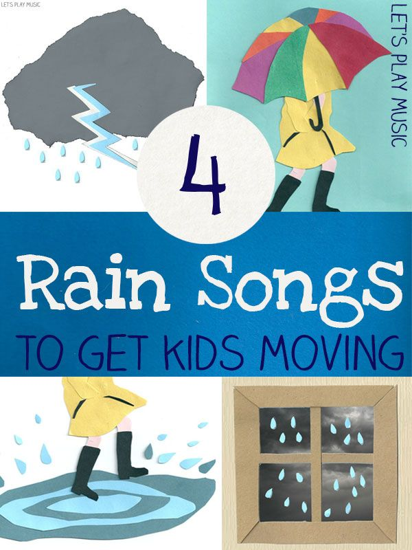 a6238079089e Rainy Day Nursery Rhymes : Songs for a Rainy Day   Weather ...
