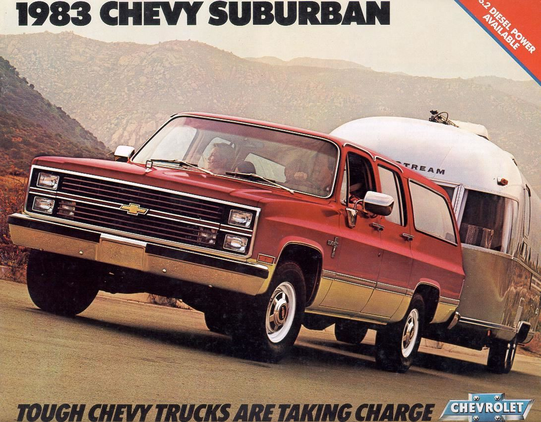 1983 Chevy Suburban 1983 Chevrolet And Gmc Truck Brochures