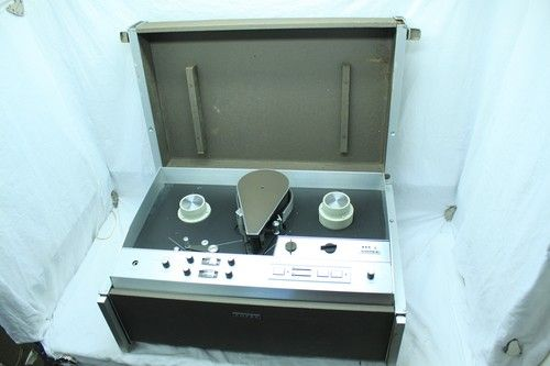 """Ampex VR-7000 Vintage 1"""" Video Reel to Reel Tape Recorder VR7000 Rare  In high school we had two of these black and white recorders.  We used them for recording off TV."""