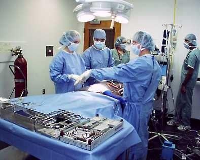 Bloc opératoire, Chirurgie, Intervention chirurgicale, Matériel, Equipe de soins