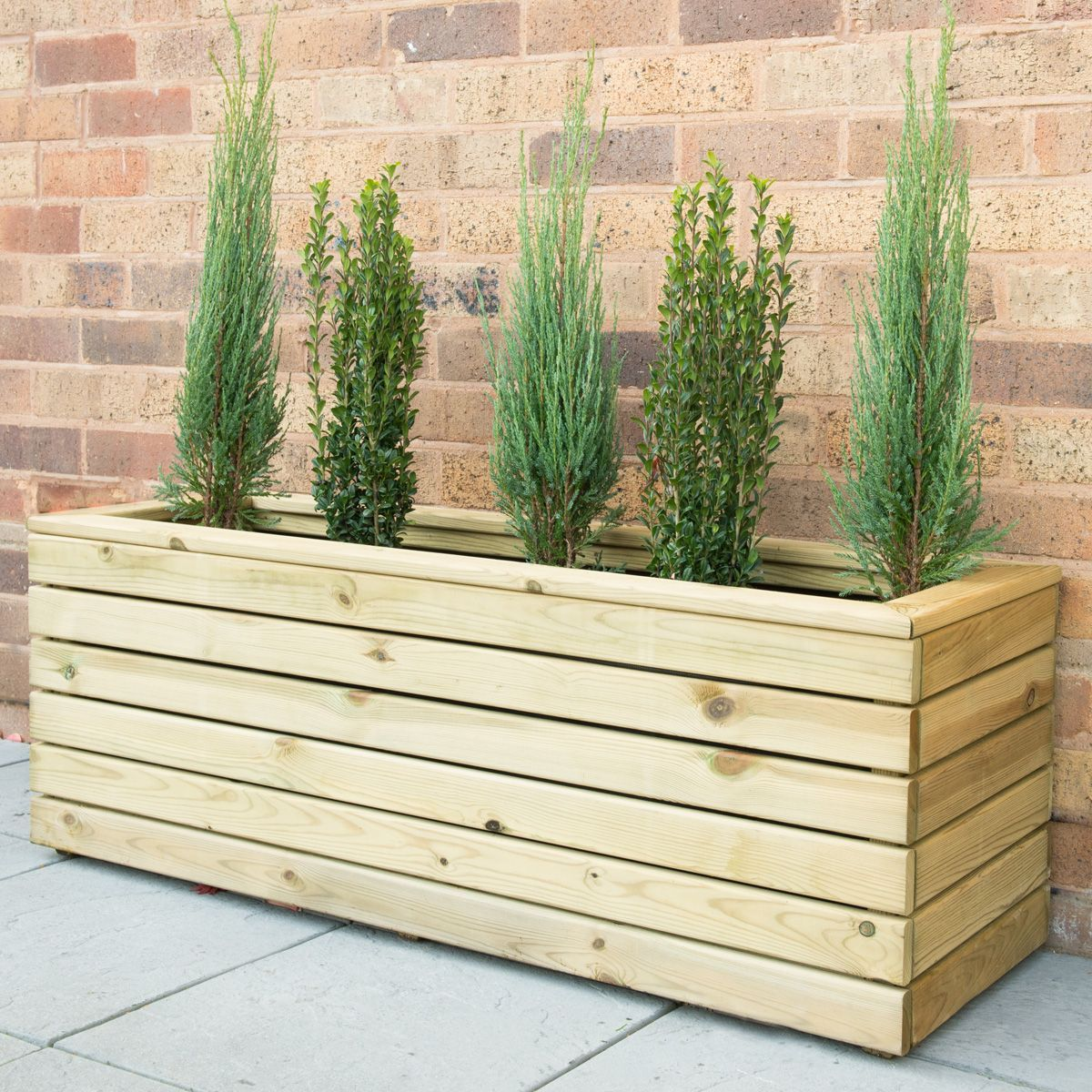 Forest Garden Linear Planter Long | Notcutts | Notcutts | Garden ...
