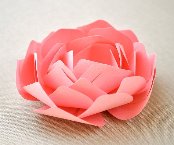 The Amelia Series - paper peony place setting