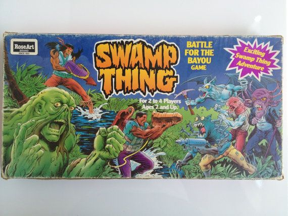 Vintage Swamp Thing Battle For The Bayou by RetroAlleyVintage, $28.00