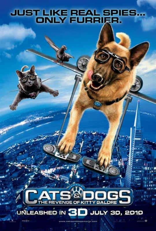 Cats And Dogs The Revenge Of Kitty Galore (2010) Directed