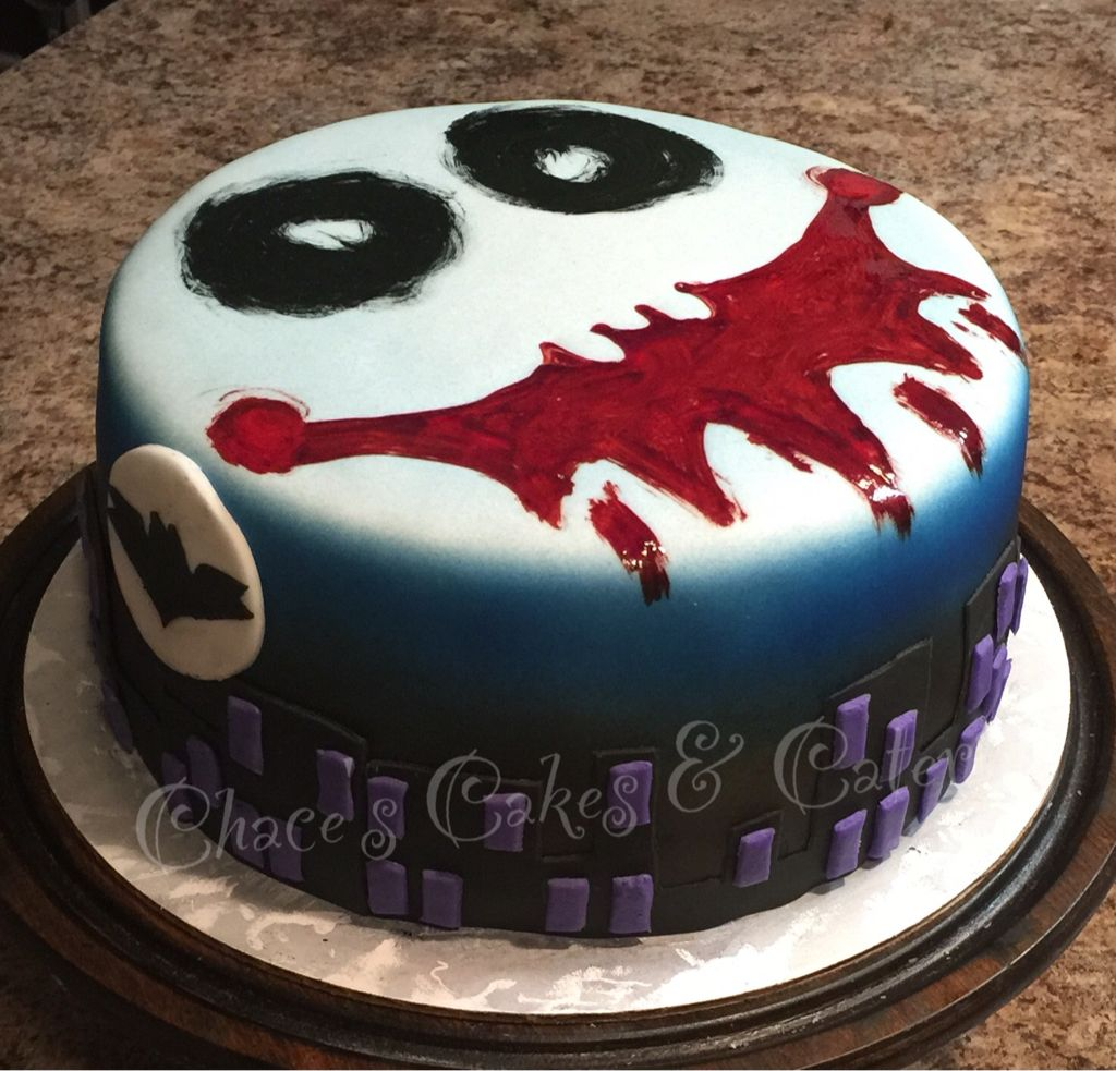 joker birthday cake
