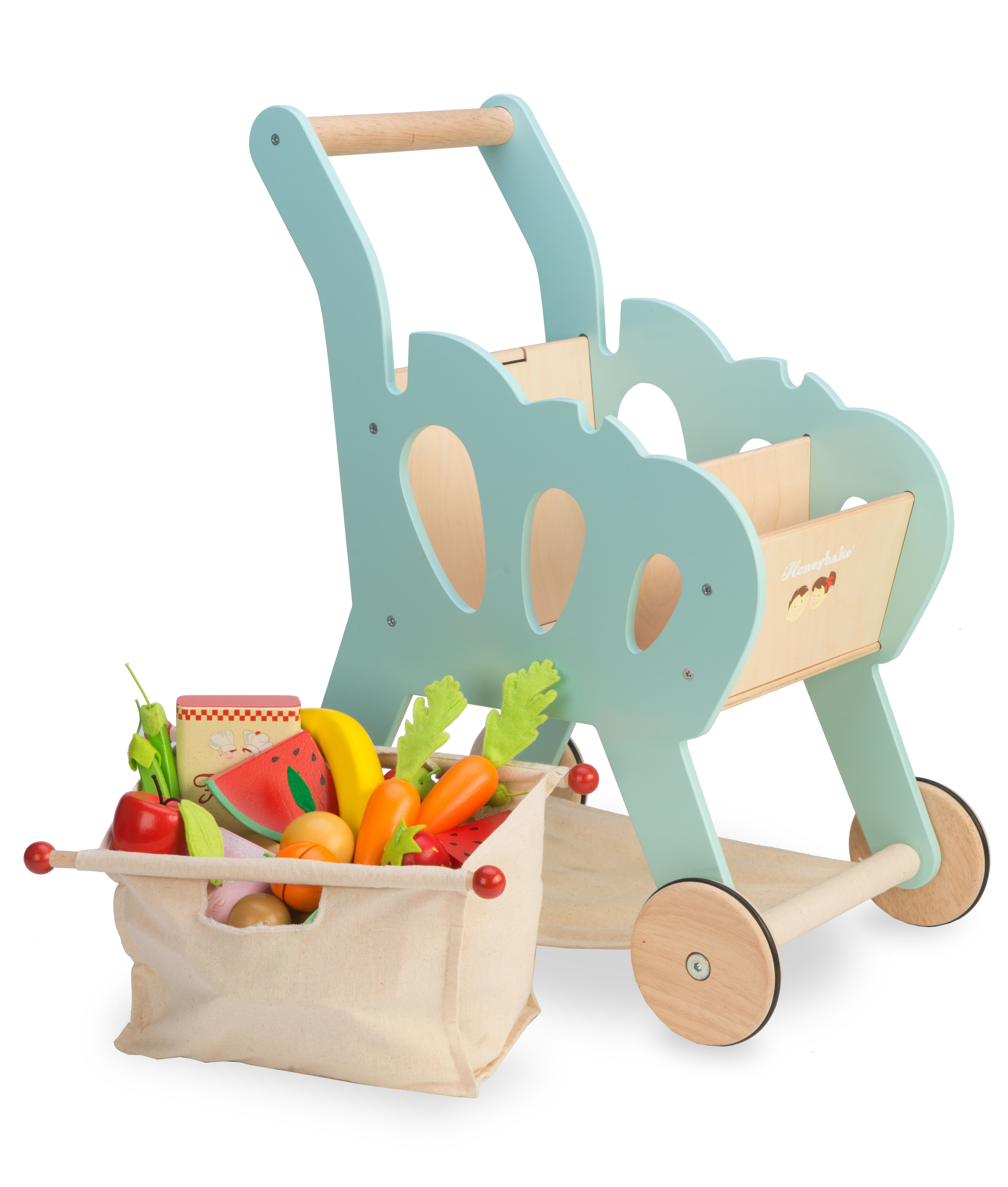 Shopping Trolley (with detachable fabric bag) | Le Toy Van ...