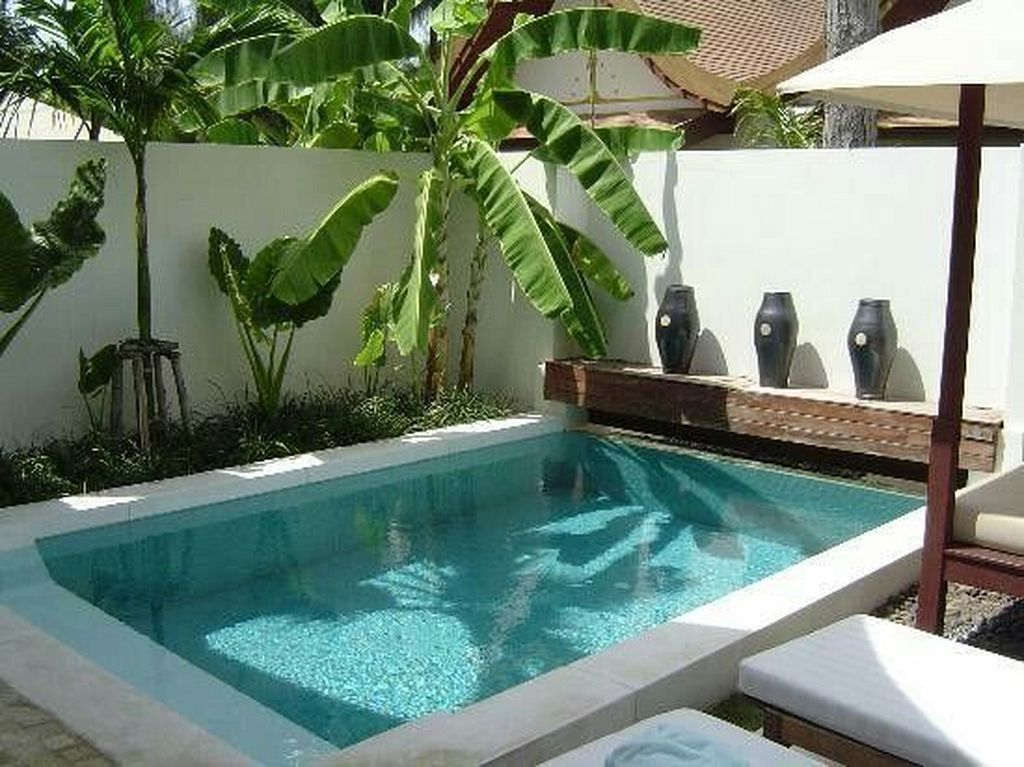 20  tropical garden pool design ideas for modern house