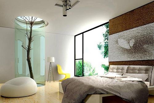 Great Bedroom designs | Indoor trees, Bedrooms and Room