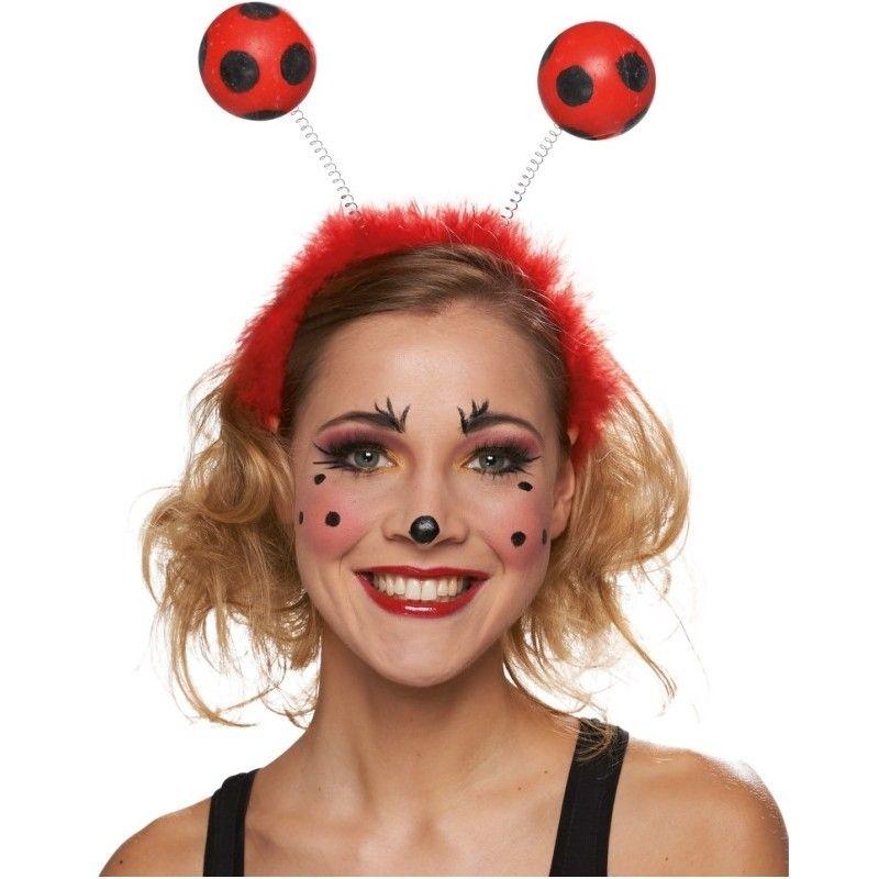 Serre tête coccinelle adulte, serre tête coccinelle avec antennes de  coccinelle rouge à pois,